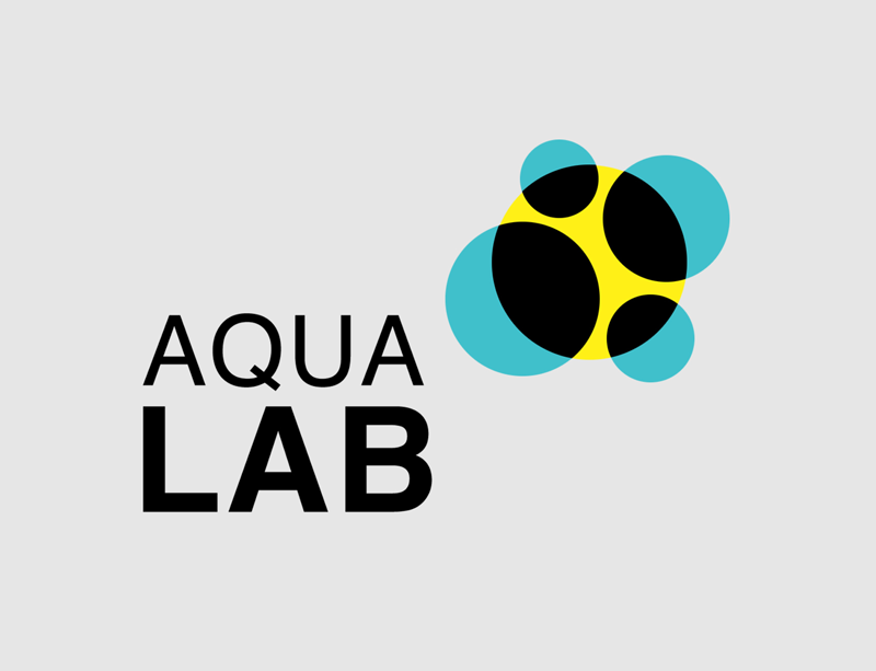 Logotip AQUALAB - Laboratoris AQUALAB